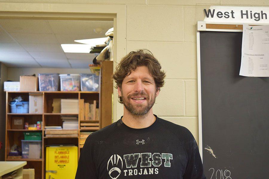 Art teacher becomes new tech director for Theatre West