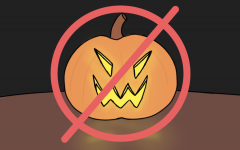 No costumes, no jack-o'-lanterns, no candy corn