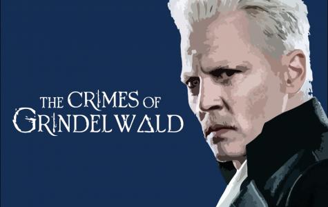 Johnny Depp gives a piercing stare as 'Gellert Grindelwald.'