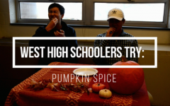 West Side Story staffers try pumpkin spice biscotti.