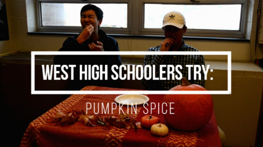 West High schoolers try: pumpkin spice