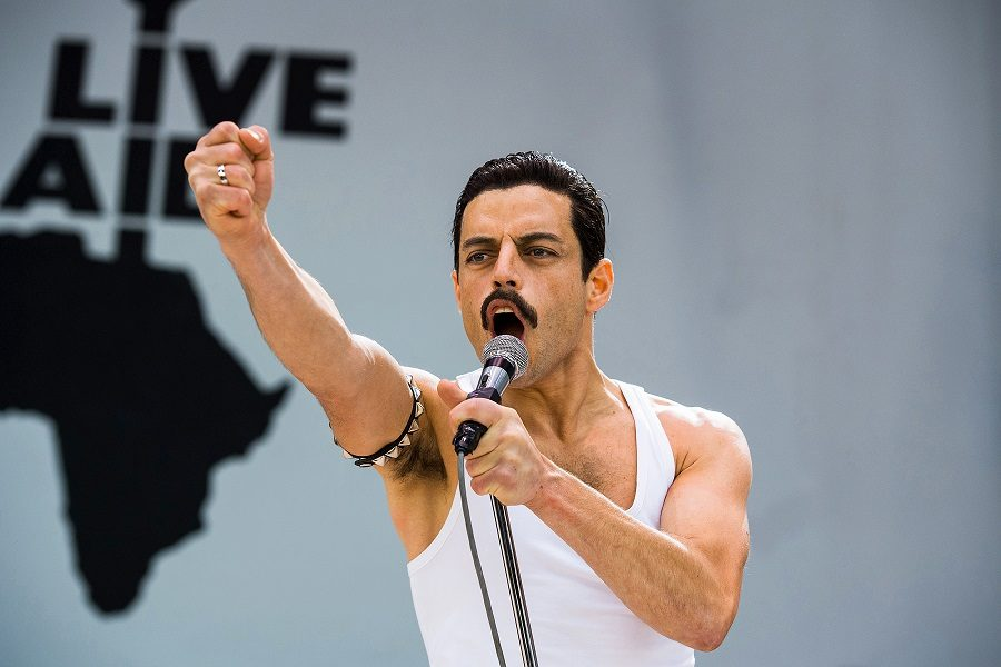 Rami+Malek+stars+as+Freddie+Mercury+in+%22Bohemian+Rhapsody.%22