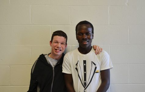 Jaden Buckley '19 and Byamungu Omari '20