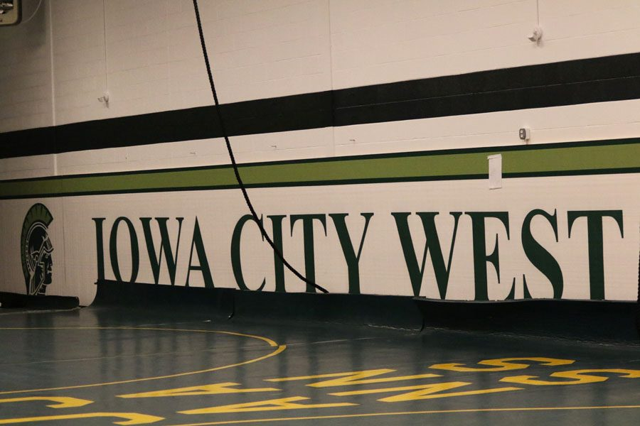 The new wrestling room opened this year. After months of waiting, the West High wrestlers are finally able to use it.