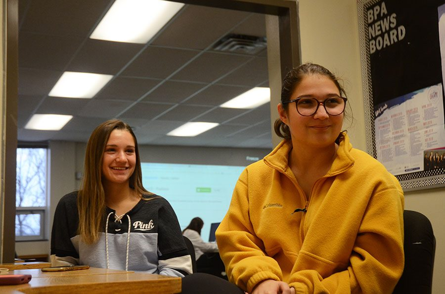 Jada 22 and Olivia Dachtler 19 talk about their experience running a business together as sisters.