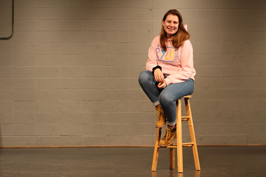 Lucy sits on the stage of the Little Theater and ponders the fear of change in her newest installment of Lucy's Lowdown.