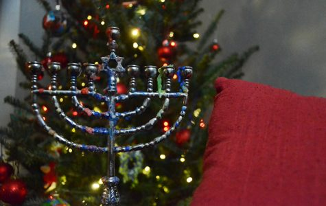 Celebrating Hanukkah in a Christmas-crazed school