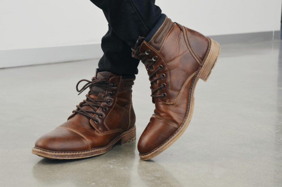 Faux leather boots from Kohl's