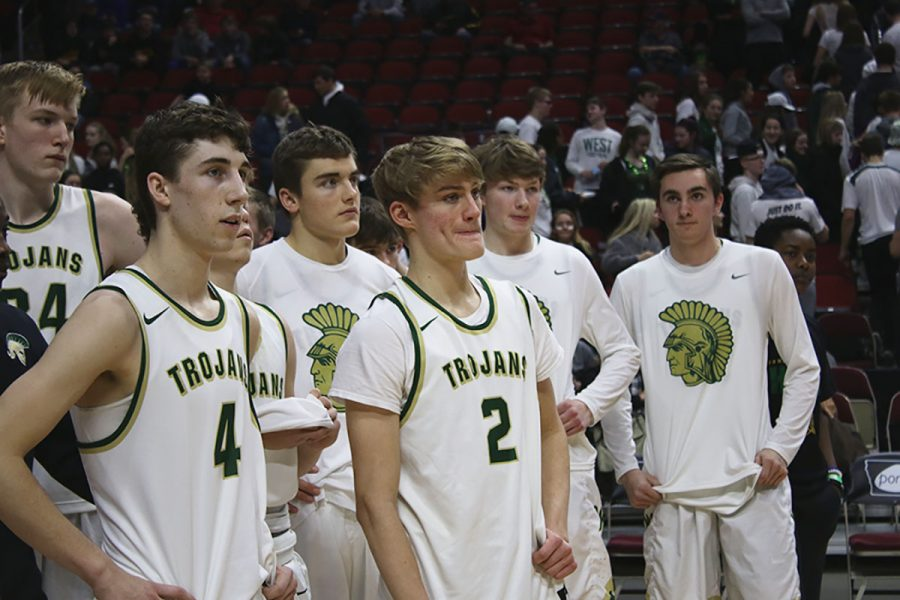 Boys basketball ends season at state quarterfinals