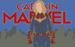 Captain Marvel (Brie Larson) stands tall against the growing Skrull threat.