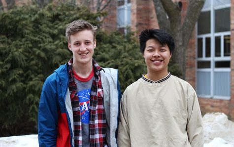 Kenneth Wilbur '20 is joined by Wylan Gao '20 for his latest podcast.