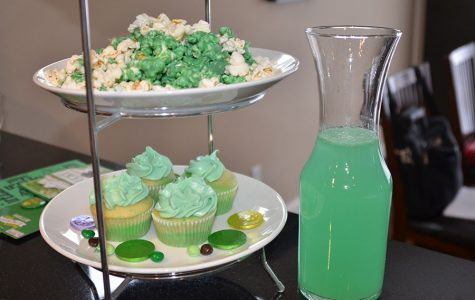 Displayed are three St. Patrick's day recipes West Side Story made to celebrate the holiday.