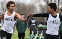 Boys track honors seniors and past coach