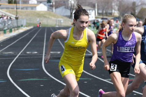 Girls track and field hosts first outdoor meet of season