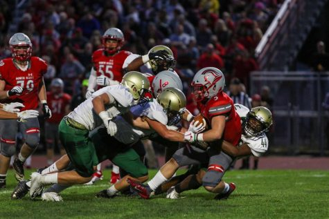 West football beaten down by bruising Bulldogs 42-15