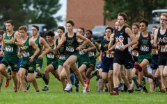 Boys cross country places third at Prairie Invitational