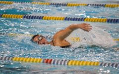 Trojan Bolts fly past Golden Eagles in home swim meet