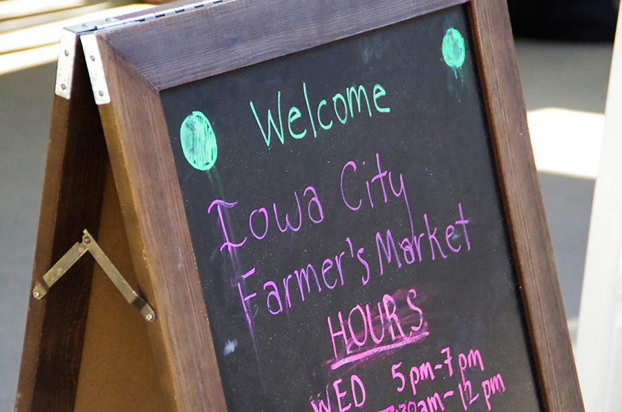 The Iowa City Farmers Market was first established in 1972. After 47 years the market has grown from just 13 vendors to 80.
