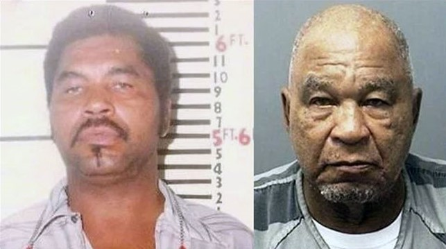 A mugshot of Little from an arrest in the 1980s and from his arrest on murder charges in 2012.