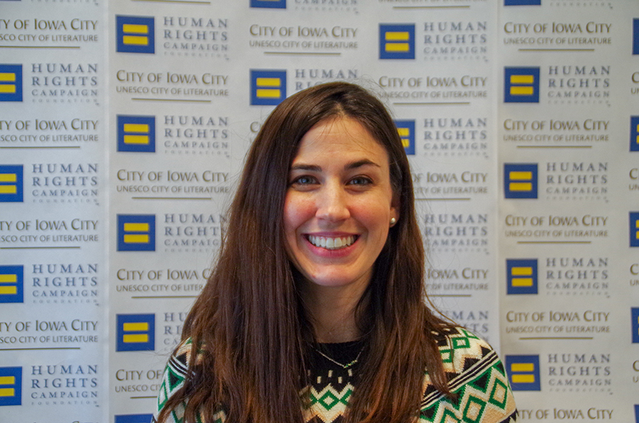 Assistant City Manager Ashley Monroe elaborates on how Iowa City plans to maintain and better their score on the Municipal Equality Index in the future.