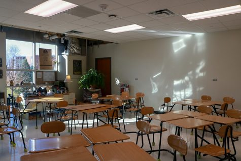 Over the course of the first trimester, many classrooms with windows facing the courtyard underwent construction. Although the new classrooms are ready to be used, some improvements are still necessary.