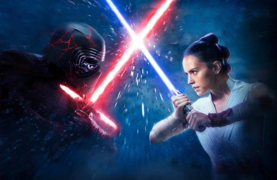 Kylo Ren and Rey face off in ¨The Rise of Skywalker¨~Lucus films