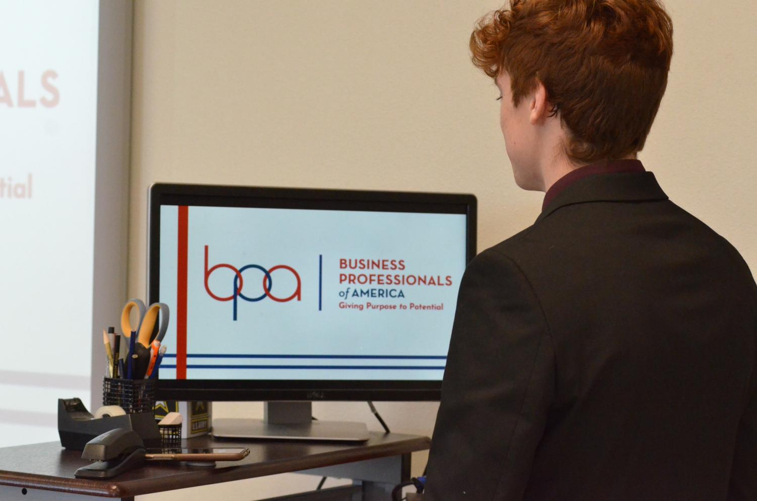 West BPA members compete at regional competition