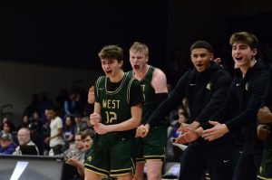West girls and boys basketball reign over Liberty High in double-header