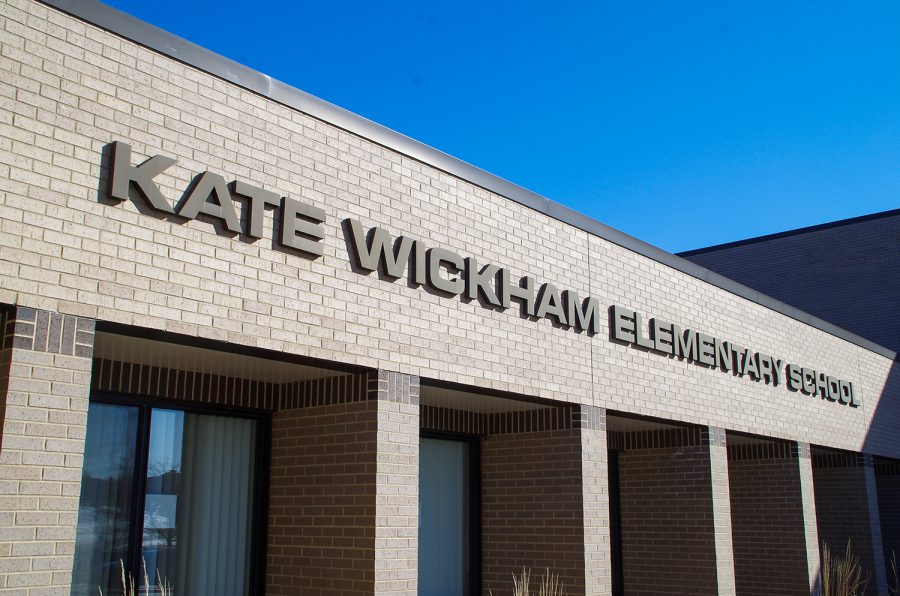 Kate Wickham Elementary school first opened its doors on Aug. 25, 1997.