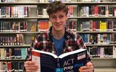 Ken Wilbur '20 reminisces over time spent studying for the ACT in the West high library.