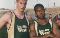 The boys track used these uniforms from 2005 to 2012. They have been deemed the worst West uniform.