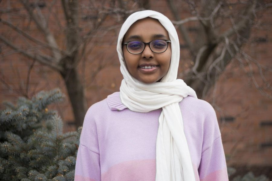 For+Amina+Ahmed+%2720%2C+wearing+her+head+covering+is+a+very+visible+expression+of+her+identity.+%E2%80%9CWell%2C+the+first+time+when+I+went+to+school+everyone+was+so+shocked+because+I+was+the+only+one+who+wore+one+in+the+whole+school%2C%E2%80%9D+she+said.