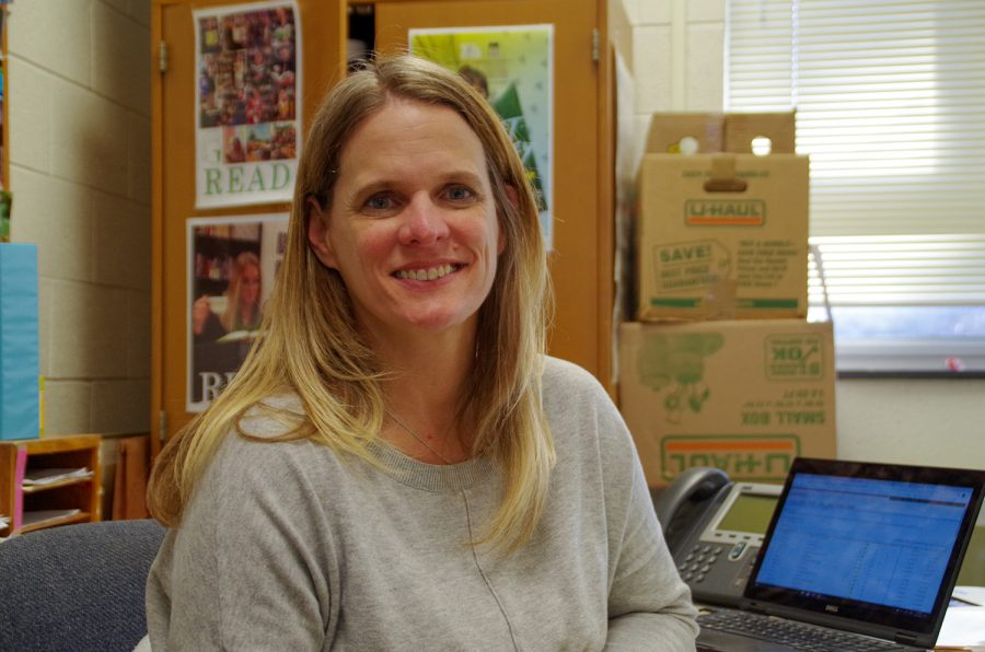 English teacher Kerri Barnhouse has had multiple students from previous years end up teaching with her at West.