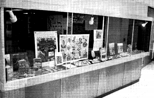 The display case in the Commons and an exhibit in the library have become the only predominant advertisements of Black History Month at West High this February.