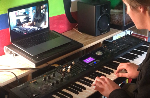 Student-run organization offers online music lessons during COVID-19