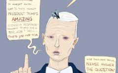 Caroline's Comics: Pence versus a fly