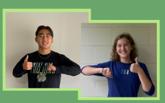 Yulong Shao '21 and Lucy Westemeyer '21 were announced as senior class president and vice-president Oct. 26.