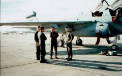 Breese in 1996 with the Marine Tactical Electronic Warfare Squadron 4.