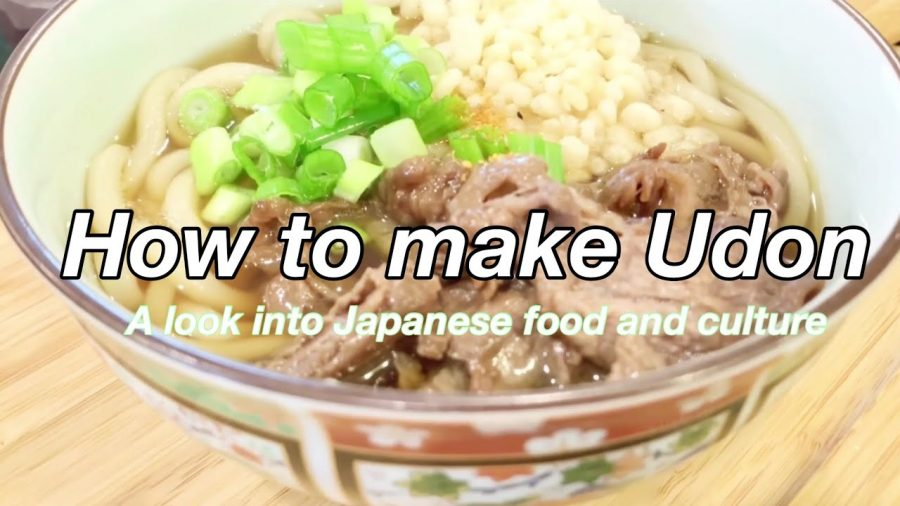 The Japanese dish udon is important in Nao Oya '23's quest to stay connected to her culture