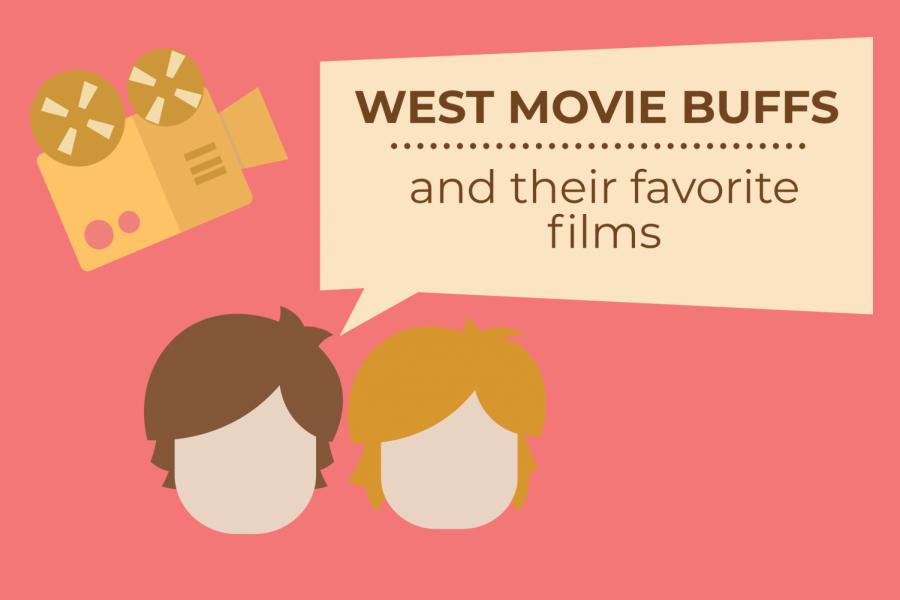West High movie buffs Sam Westergaard 22 and Sam Nester 21 discuss their favorite films.