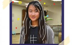 Athena Wu '24 is the founder of The Rocket Times, Van Allen Elementary's school newspaper.