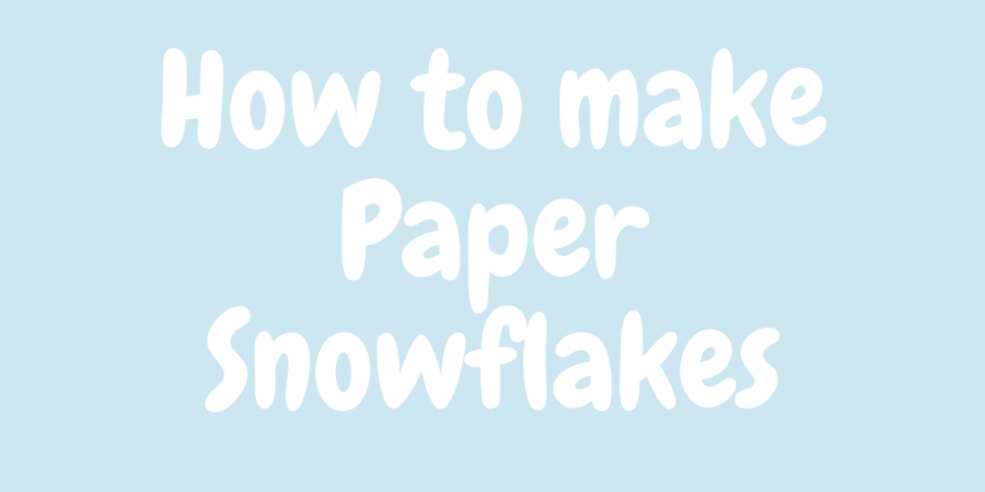 How+to+make+paper+snowflakes