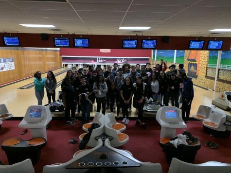 Academy members enjoy an outing to the local bowling alley as a treat.