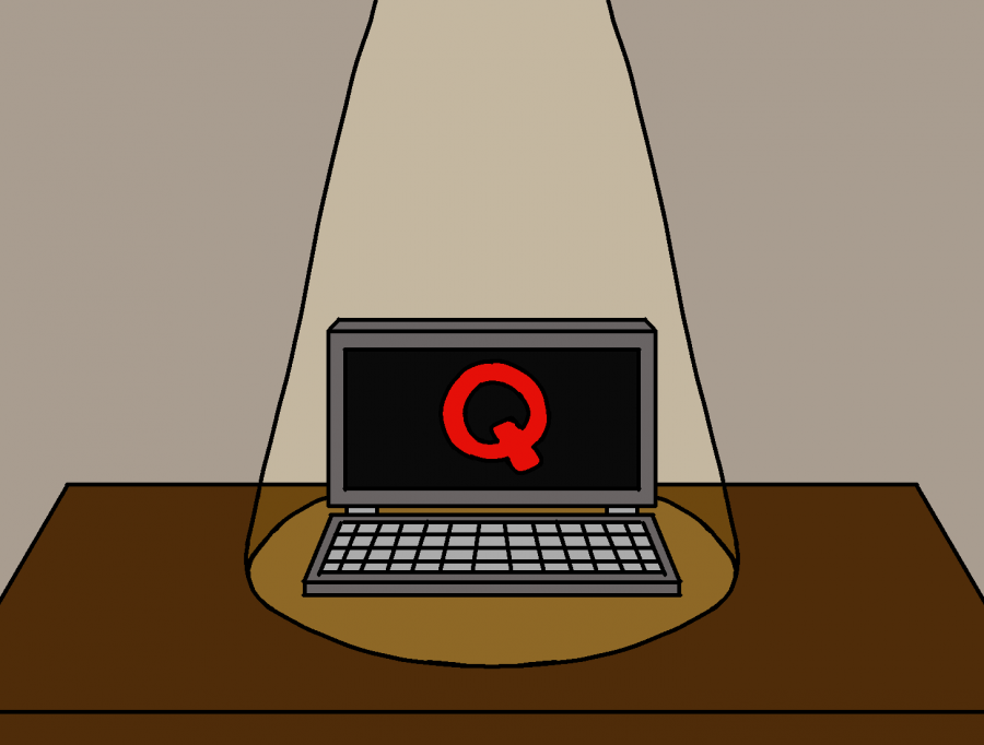 WSS staffers Renee Gould '22 and Annie Schwartz '23 delve into the world of QAnon.