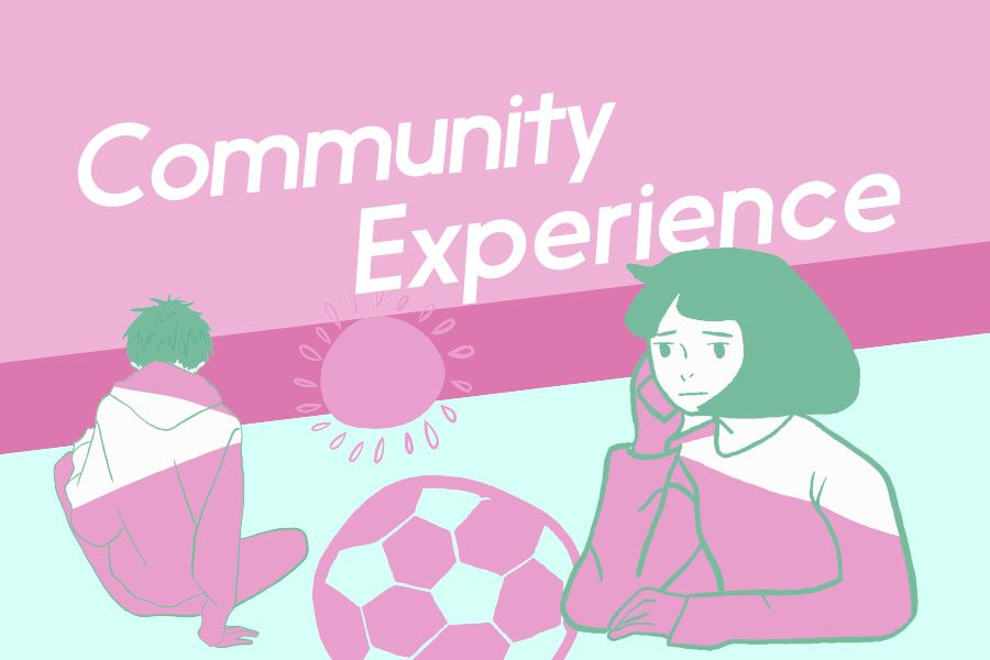 Community experience: balancing school, COVID-19 and mental health