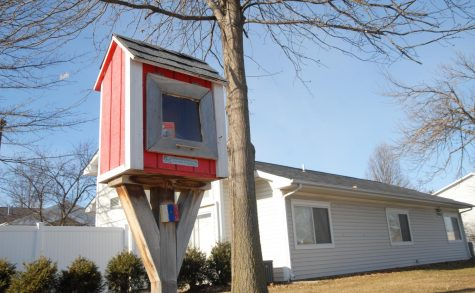 Little Free Libraries provide free books to the community.