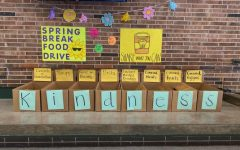 Donation boxes are located in the commons.