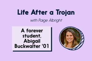 Abigail Buckwalter '01 talks a career in marketing and being a lifelong learner.