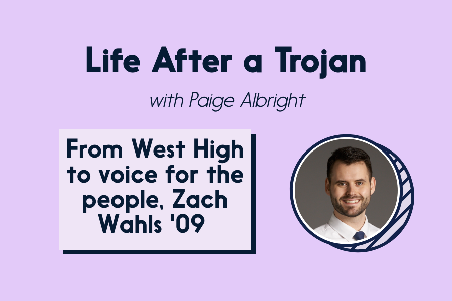 Zach Wahls '09 discusses his path to become and Iowa State Senator.