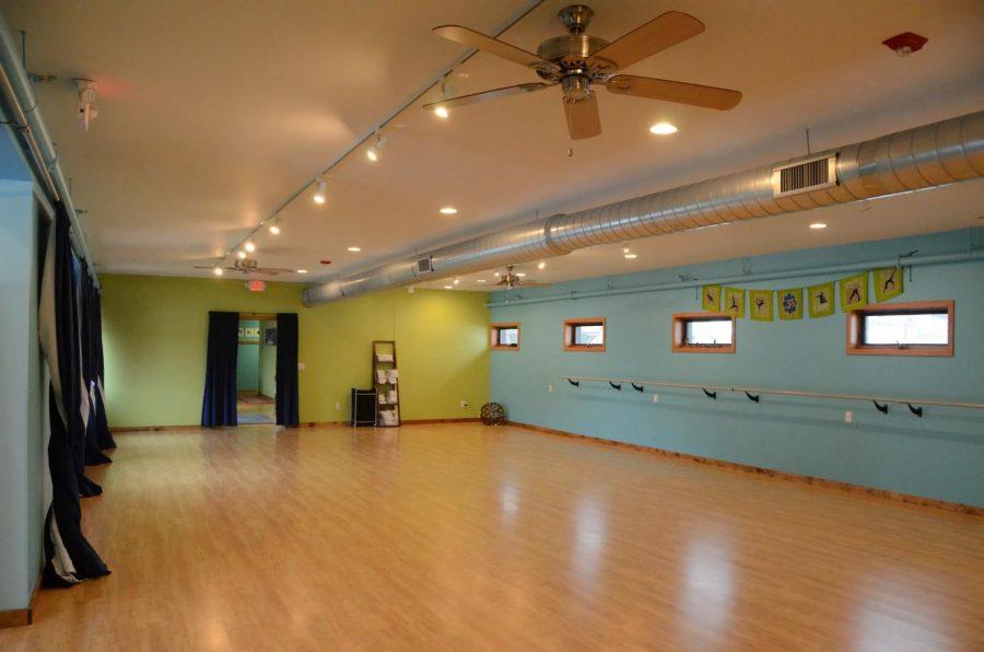 A+picture+inside+the+Downward+Dog+Yoga+studio